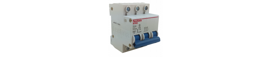 MCB - Interruptores Miniatura