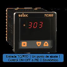 Controlador Temperatura96x96mm