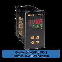 Controlador de Temperatura 96X48