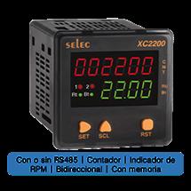 Contador 6 digitos, indicador RPM,72x72mm