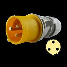 Clavija 32A, 2P+T, 4h, 100-130V