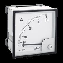 Amperimetro directo 72X72mm
