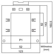 Tranformador 750/5A SCCT
