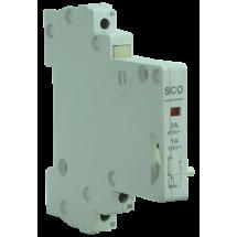 Contacto auxiliar SPDT, LED